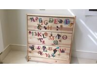 """IKEA """"rast"""" small chest of drawers"""