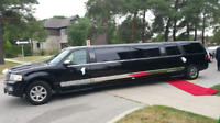 Mississauga Brampton Woodbridge limo service stretch limousine
