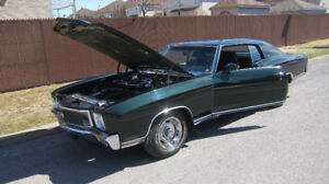 71 CHEVROLET 402/425HP  4 SPEED  A/C .   **LIVE VIDEO **