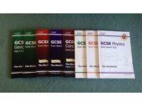 Bundle of 8 GCSE CGP Books