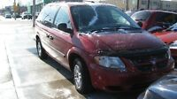 2006 Dodge Caravan 7 passenger  135000 KM safety and e test
