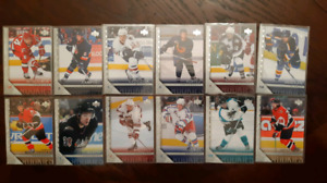Hockey card lot 95 UD Young Guns