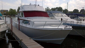 35' Inland Sea custom built cabin cruiser boat