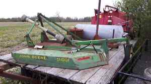 John Deere 503 bush hog