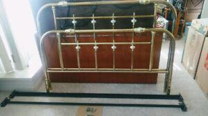 Queen bed frame (metal)