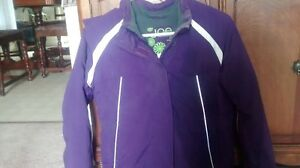 Girls winter jacket, purple