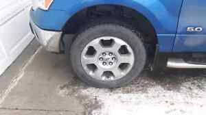 Tires with rims 275/65/R20