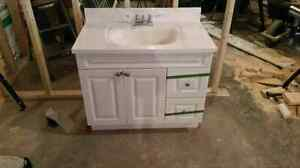 Bathroom vanity sink and taps only $100