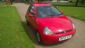 FORD KA COLLECTION EDITION IN RED - VERY GOOD RUNNER
