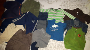 Baby boy clothes.  Size 3-6 months