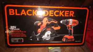 Black and Decker 20v  2 tool combo kit  London Ontario image 2