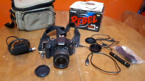 Cannon Rebel T3i with box, like new