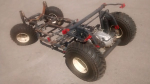 Unfinished Modified Yamaha G2 Golf Kart *no eng./*NEW TIRES x4*