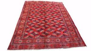 Genuine Persian Handmade Hand Knotted Turkmen Rug-286x208 cm Hornsby Hornsby Area Preview