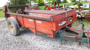 3 New Idea Manure Spreaders. Starting @ $1499