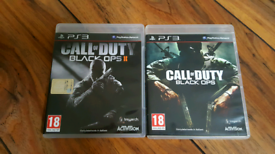 Call Of Duty Black Ops 1 & 2 Italiano PS3 Bundle