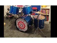 Drum Kit, Blue Hartlepool united