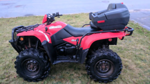 2011 kingquad 500 excellent condition!! With lots of extras.