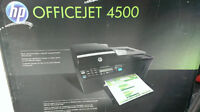 Hurry! HP Office Jet 4500 printer, scanner, photocopier, fax