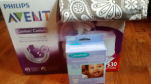 Double Advent Comfort Electric Breast Pump - Hardly Used  :(