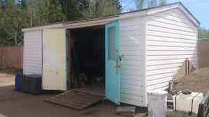 Insulated. Power. Benches. Nice shed 24x14