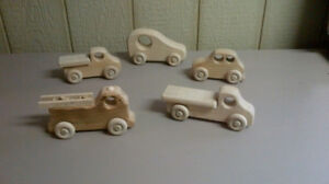 Wooden Cars and Trucks (3 for 20)
