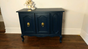 Two door accent table
