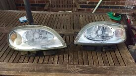 Saxo front lights