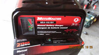 MOTOMASTER ELECTRIC BATTERY CHARGER