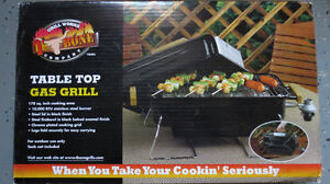 T-Bone, Portable Tabletop Gas Grill-just like NEW!  Reduced!