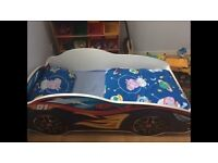 Kids toddler bed (racing car)