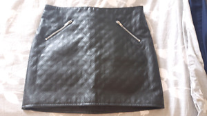 Mint condition pleather skirt