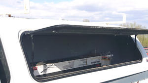 8ft Leer toolbox canopy