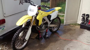 RMz 450 with gear to go with it