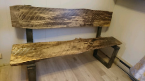 On Sale! Live Edge Indoor/outdoor Bench