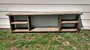 bench with shelves for sale $55 O.B.O