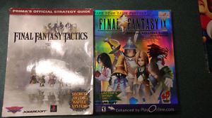 Final fantasy strategy guides for sale