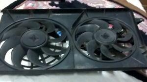 Fan electrique pour radiateur.