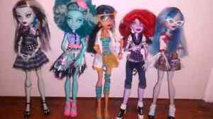 Lot monster high doll + accessoires