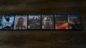 PS4 Games (NEED GONE ASAP)(OBO)