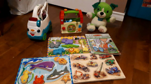 Leapfrog toys and puzzles