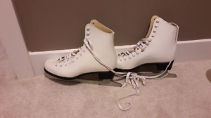Several figure skates. Most used only one season