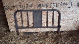 Antique bed frame.