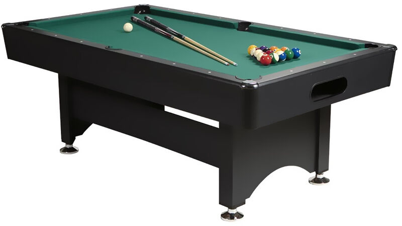 ball return or drop pocket slate pool table - Slate Pool Table
