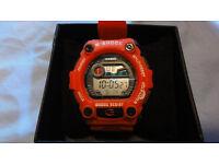 New Casio G-Shock GShock Digital Watch Red G-7900 RRP £95.00 Box Light Timer