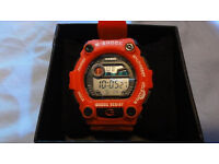 NEW CASIO G-SHOCK Red G-7900 Watch RRP £95.00 Light Timer Gift Box BN