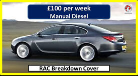 PCO Car Hire/Rent <> Insignia-Man (£100) <> Uber ready.