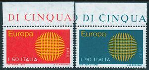 REP-IT-1970-EUROPA-BORDO-DI-FOGLIO-B-SERIE-COMPLETA