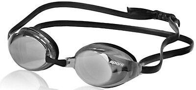 Sporti Antifog S2 Mirrored Goggle - Silver Mirror, Smoke Lens, Black Frame