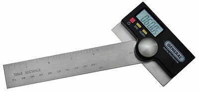 Precision Protractor Digital 6 Stainless General Tool 1702